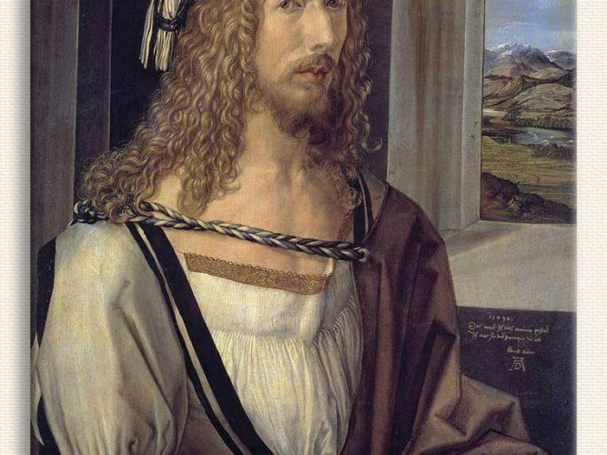 Albrecht Dürer Kendi Portresi 26 Yaşında