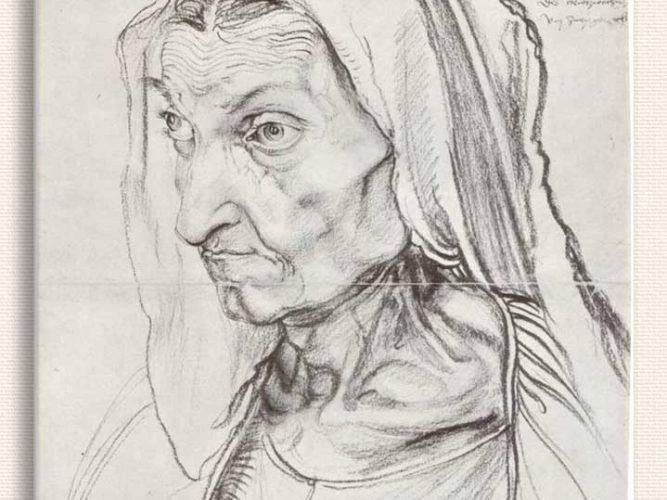 Albrecht Dürer Sanatçının Annesi