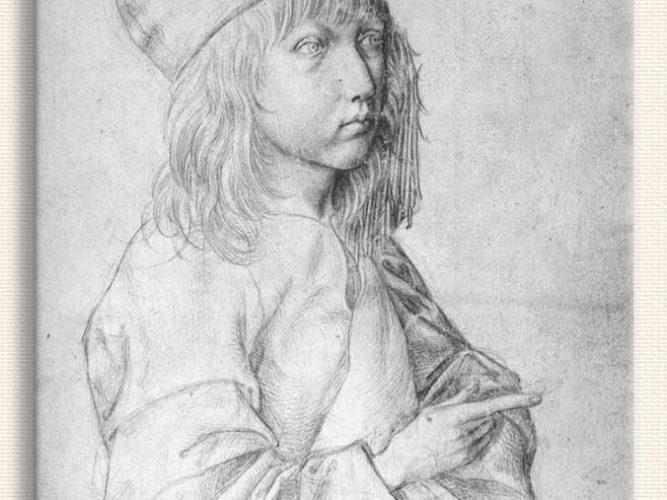 Albrecht Dürer Kendi Portresi 13 Yaş