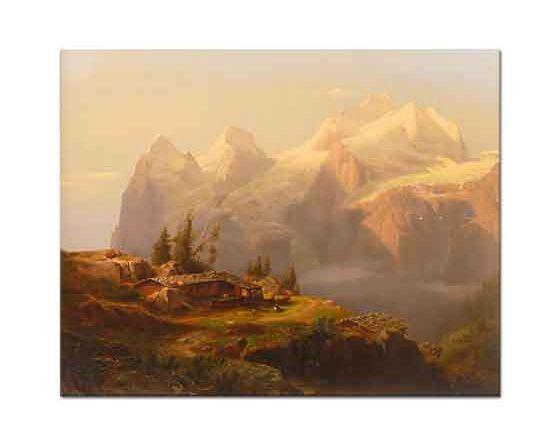 Alexandre Calame Dağlar