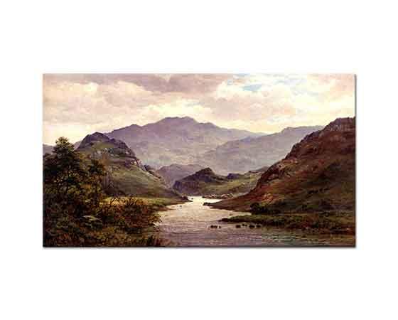 Alfred de Breanski Colwyn Nehri Kuzey Vadisi