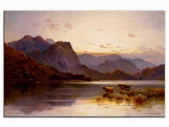 Alfred de Breanski Göl Kenarı
