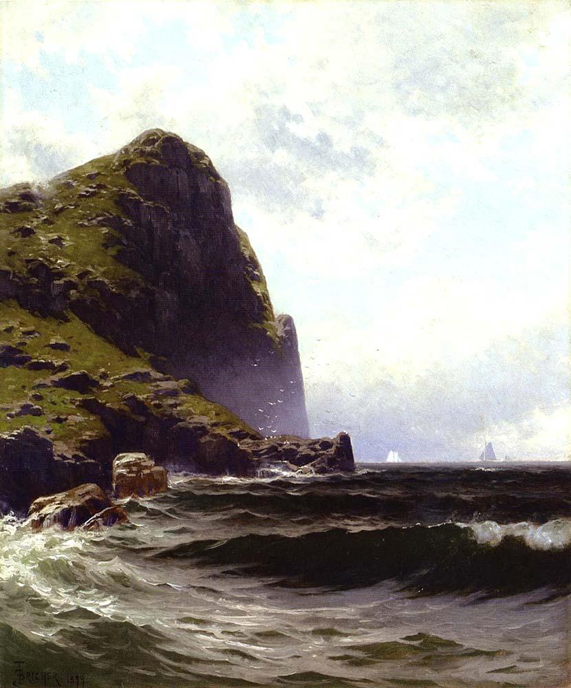 Alfred Thompson Bricher Brundith Kayası