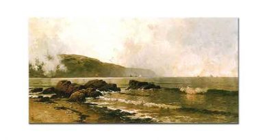 Alfred Thompson Bricher Grand Manan Sahili