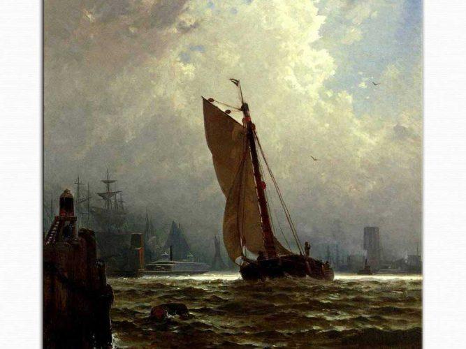 Alfred Thompson Bricher New York Limanı
