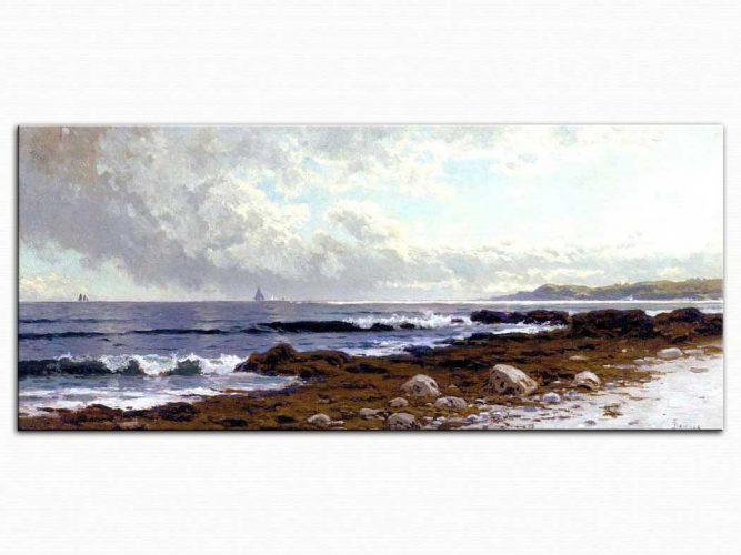 Alfred Thompson Bricher Sahile Bakış