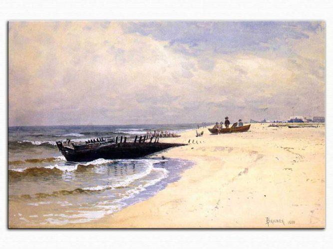 Alfred Thompson Bricher Sığ Sahil