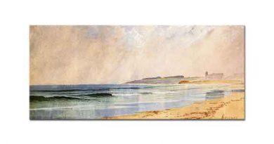 Alfred Thompson Bricher Yağmurlu Ada