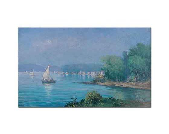 Ali Rıza Beyazıt Boğazda Tekneler