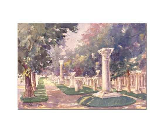 Ali Sami Boyar Arkeoloji Müzesi Bahçesi