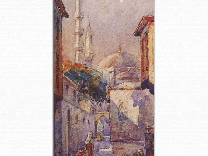 Ali Sami Boyar Eski Istanbul Sokağı