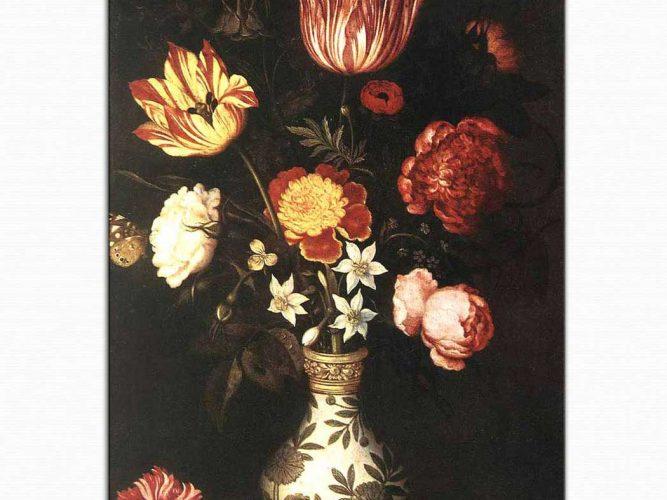 Ambrosius the Elder Bosschaert Çiçekler
