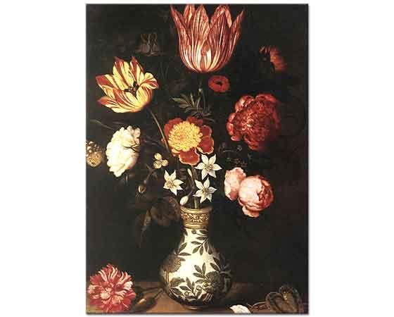 Ambrosius Bosschaert the Elder Çiçekler