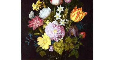 Ambrosius Bosschaert the Elder Vazoda Çiçekler