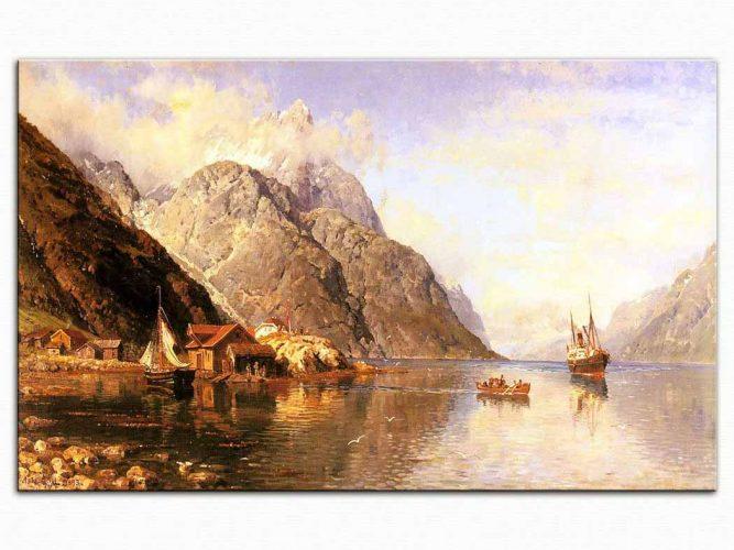 Anders Monsen Askevold Fiyortlarda Monsen Köyü