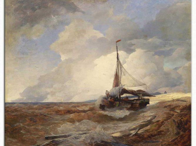 Andreas Achenbach Balıkçı Teknesi