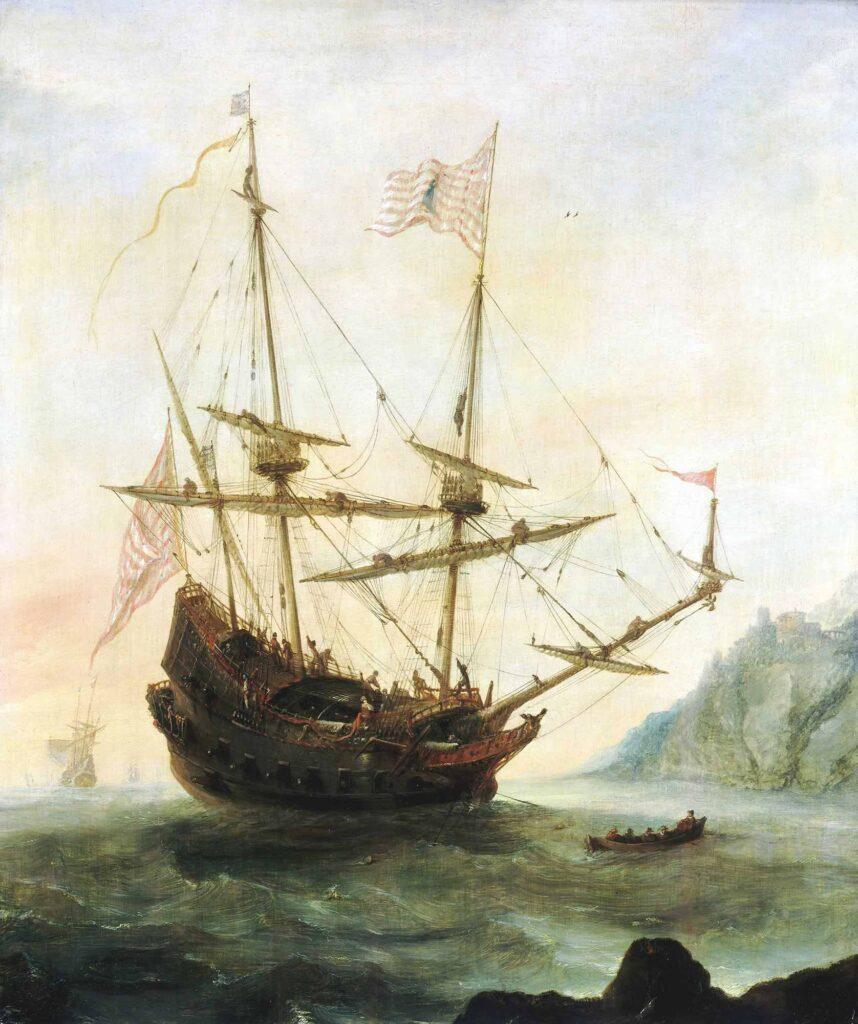 Andries van Eertvelt Demir Atmış Santa Maria