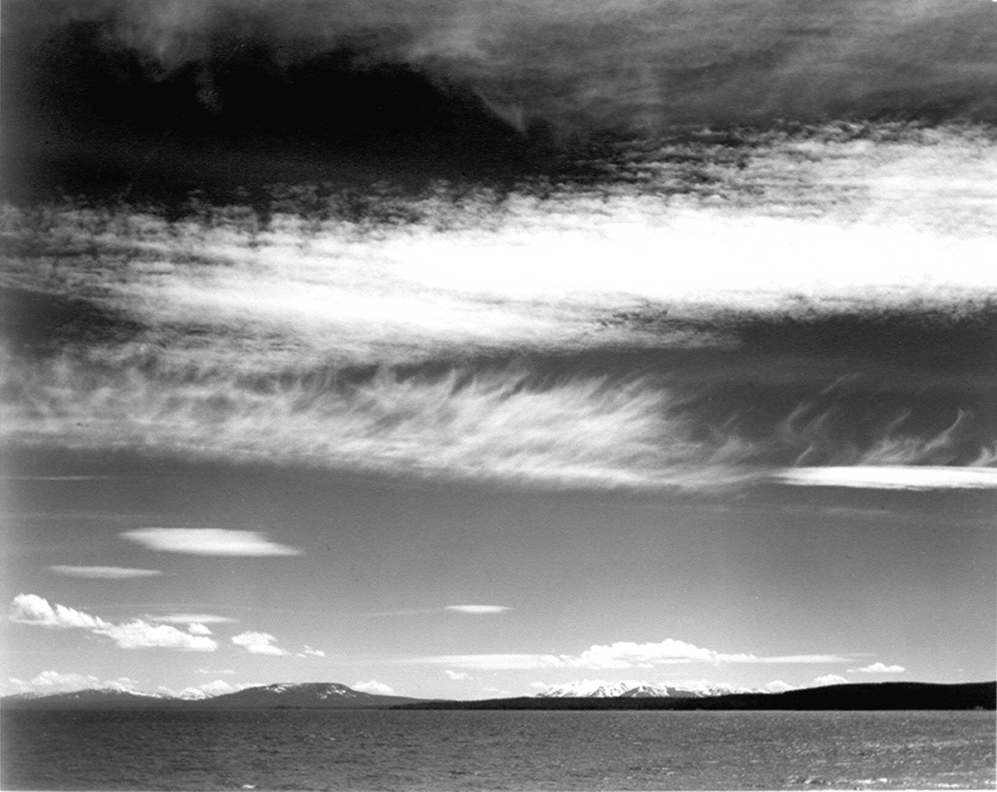 Ansel Adams Yellowstone Gölü
