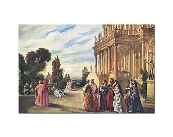 Anselm Feuerbach Ariost'un Bahçesi - Garden of Ariost