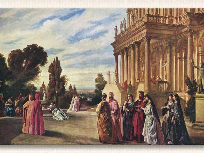 Anselm Feuerbach Ariost'un Bahçesi