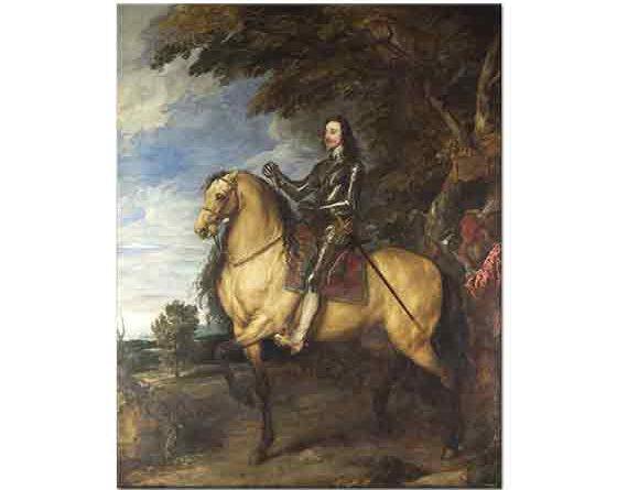 Sir Anthony Van Dyck, Atının üstünde I Charles