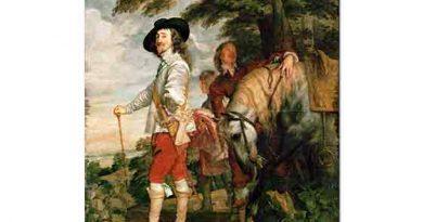 Sir Anthony Van Dyck, Avda Ingiltere Kralı I Charles