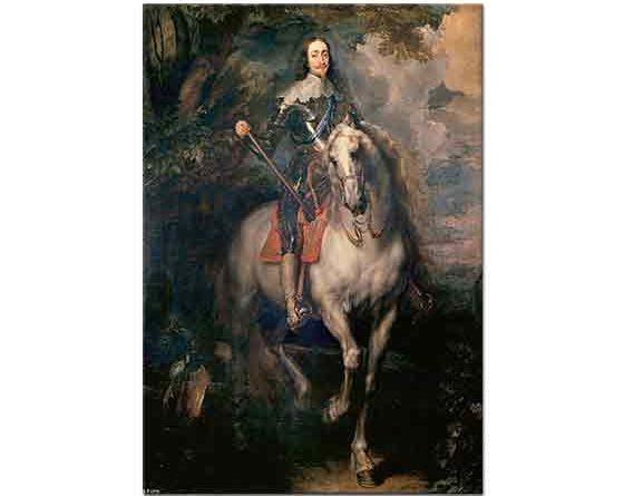 Sir Anthony Van Dyck, Ingiltere Kralı I Charles