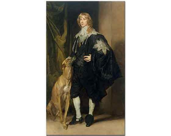 Sir Anthony Van Dyck, James Stuart