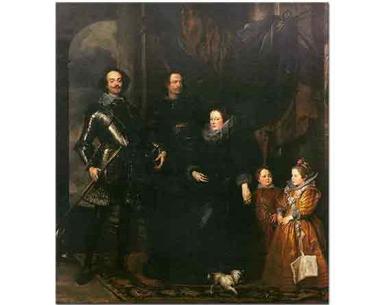 Sir Anthony Van Dyck, Lomellini Ailesinin Portreleri