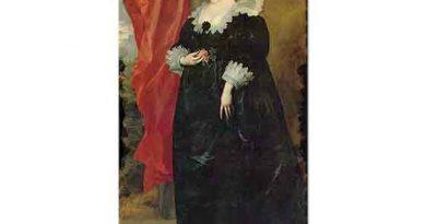 Sir Anthony Van Dyck, Margarete von Lothringen