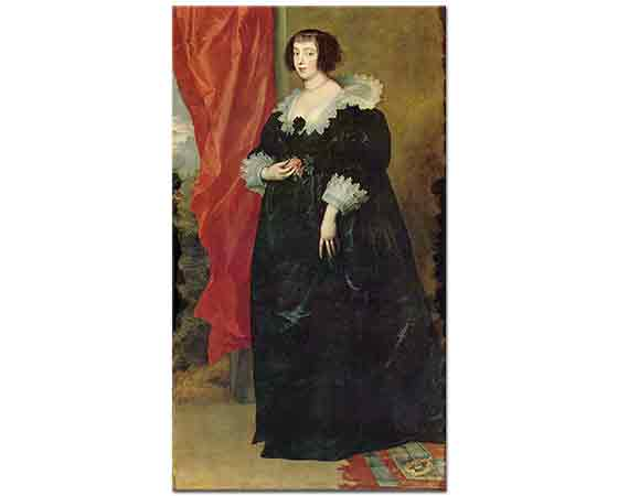 Sir Anthony Van Dyck, Margarete von Lothringen