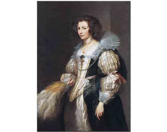 Sir Anthony Van Dyck, Marie Louise de Tassis