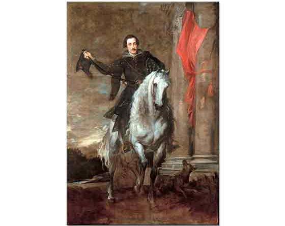 Sir Anthony Van Dyck, Marki Antonio Giulio Brignole