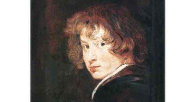 Sir Anthony Van Dyck, Otoportre