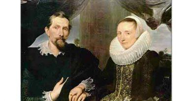 Sir Anthony Van Dyck, Ressam Frans Snyders ve Eşinin Portresi