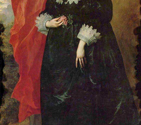 Sir Anthony Van Dyck Margarete von Lothringen'ın Portresi