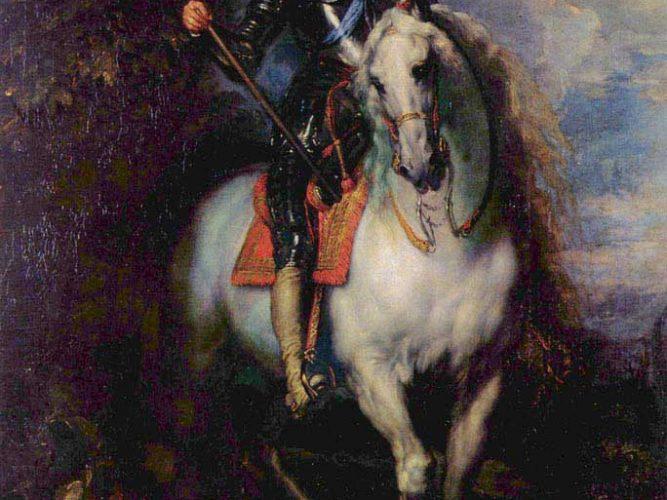 Sir Anthony Van Dyck Ingiltere Kralı I Charles'ın Atlı Portresi