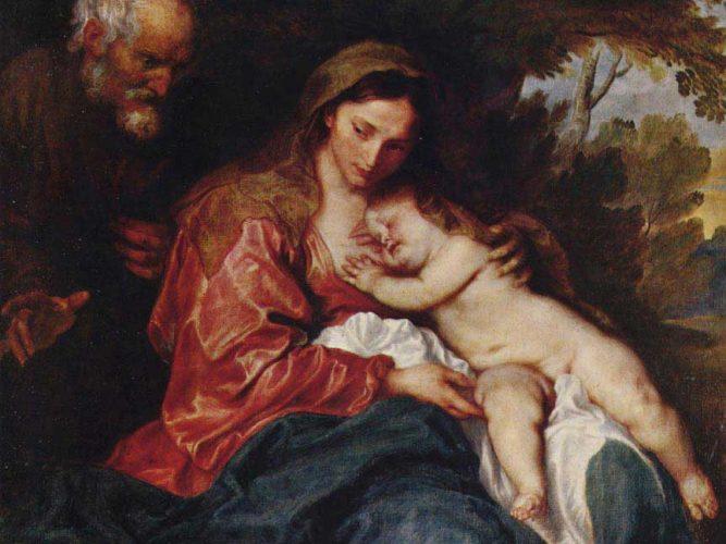Sir Anthony Van Dyck Mısır'a Kaçış