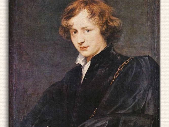 Sir Anthony Van Dyck Kendi Portesi