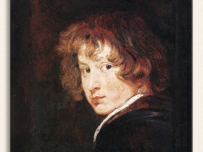 Sir Anthony Van Dyck Otoportre