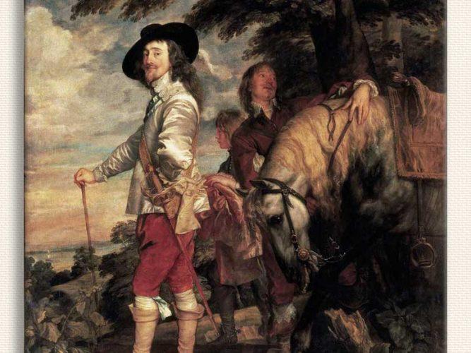 Sir Anthony Van Dyck Avda Ingiltere Kralı I Charles
