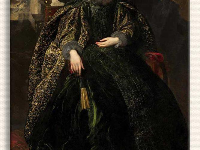 Sir Anthony Van Dyck Markiz Balbi'nin Portresi