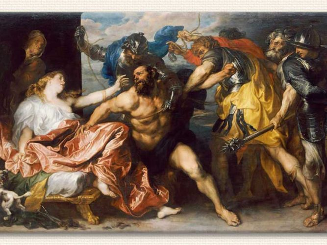 Sir Anthony Van Dyck Samson ve Delilah