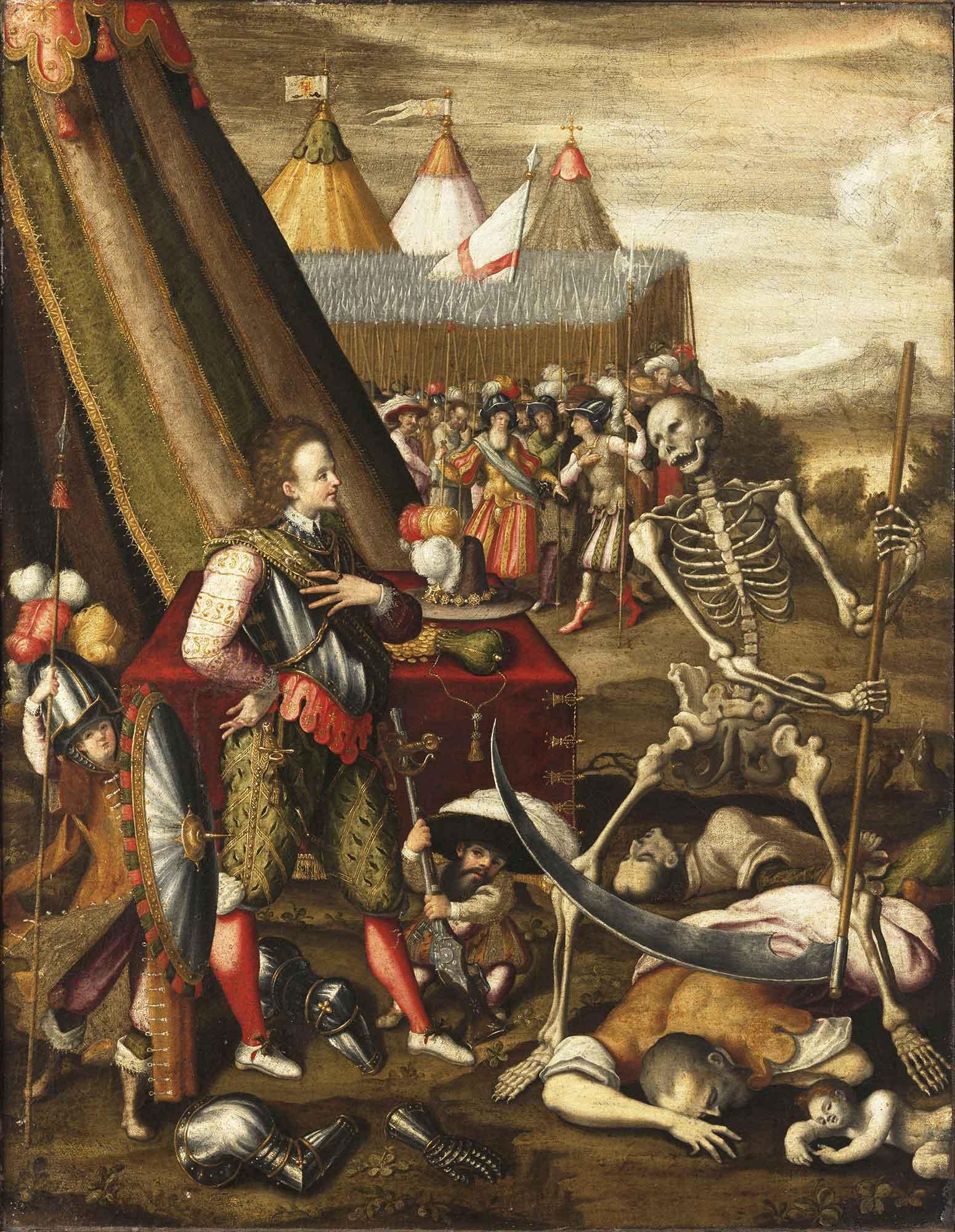 Antoine Caron Savaş Allegorisi