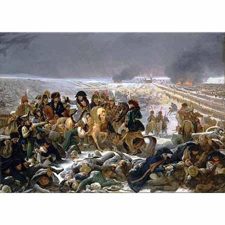 Antoine Jean Gros Napolyon Eylau Savaşında