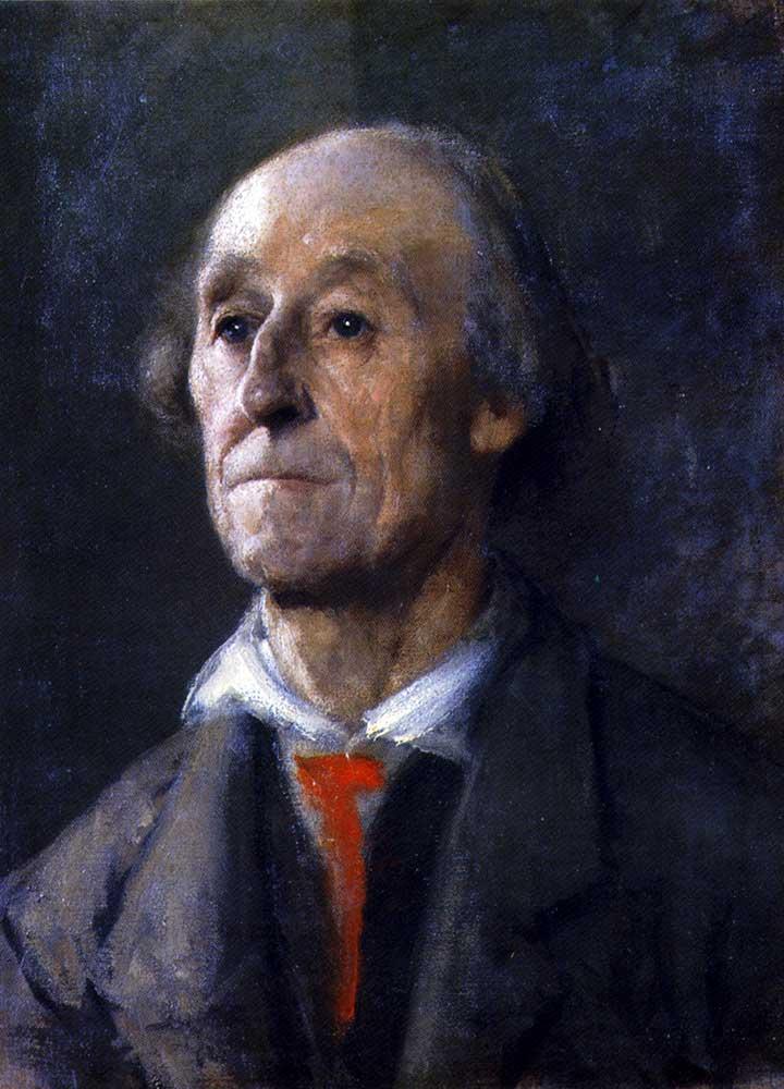 Anton Azbe Bavyeralı Portresi