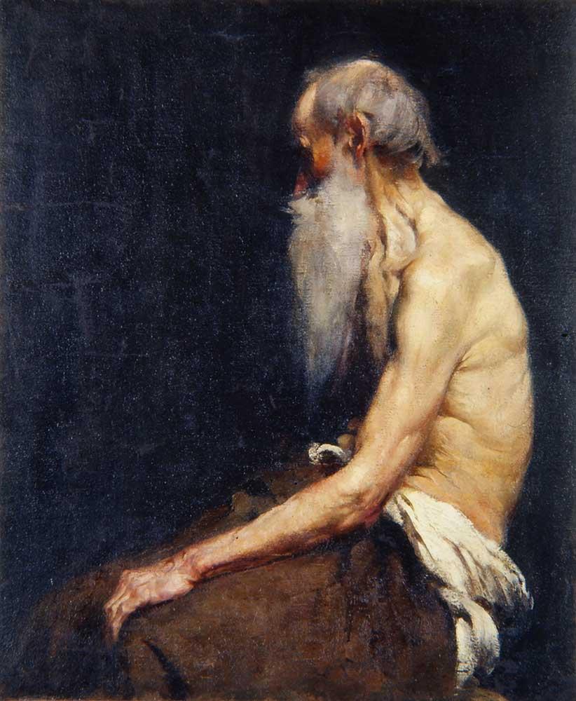 Anton Azbe Yaşlı Adam