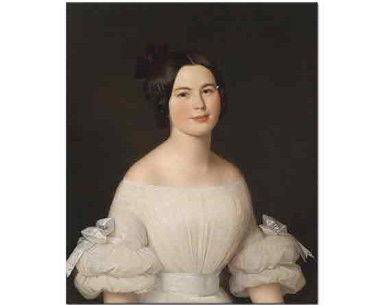 Anton Einsle Bir Kadının Portresi