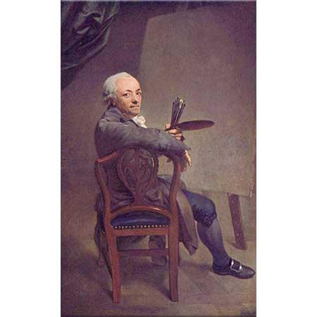 Anton Graff Kendi Portresi 58 Yaşındayken
