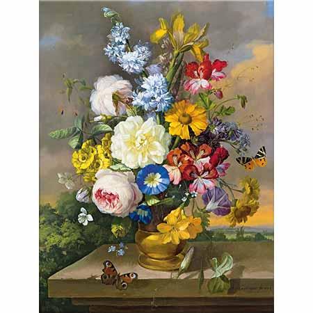 Anton Hartinger Çiçekler